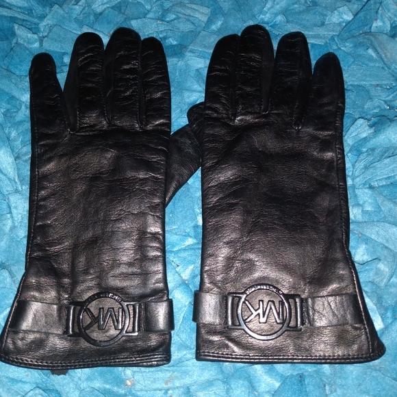 MK Leather Gloves